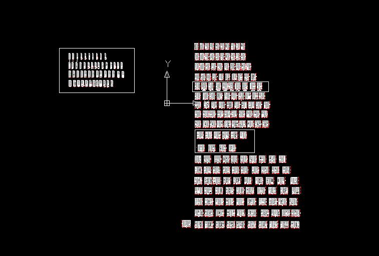 经典各类尺寸衣柜图集 cad图纸 k8设计网 powered by